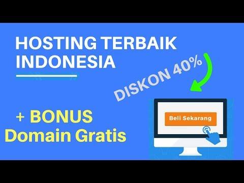 Hosting Terbaik Indonesia - Layanan Web Hosting Terbaik + BONUS DOMAIN Gratis