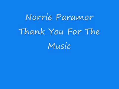 Norrie Paramor - Thank You For The Music