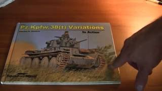 Squadron Signal PzKpfw 38(t) in action book review