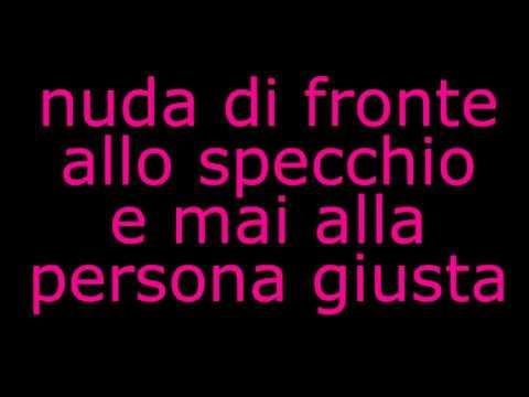 Stupida - Alessandra amoroso TESTO  LYRICS