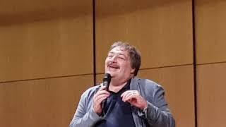 Дмитрий Быков Еврейский Центр Мюнхен 2018 - Лекция о роли евреев в  Российской литературе. Часть 1