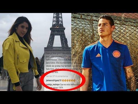 James se Delato - El Mensaje de Daniela Ospina al que James Rodriguez NO se Pudo Resistir