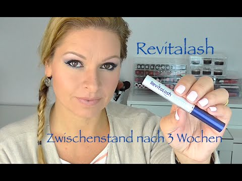 REVITALASH Zwischenstand nach 3 Wochen Wimpernserum TEST #2