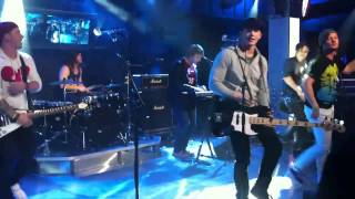 Jumpstart - These Kids Wear Crowns | NEW MUSIC LIVE @ MUCHMUSIC | DECEMBER 31, 2010