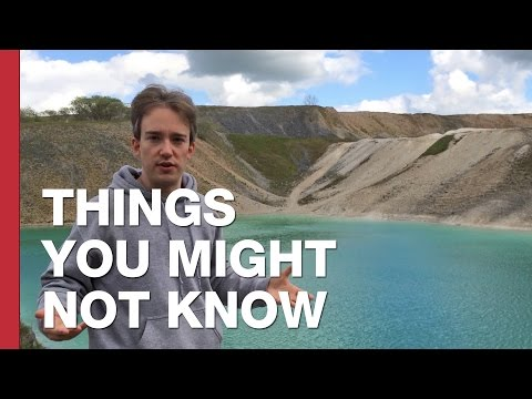 The Toxic Blue Lagoon of Buxton