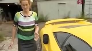 Смотреть онлайн Крутой самодельный легковой автомобиль своими руками