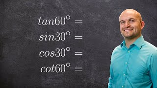 Evaluate Trig Functions Without Using A Calculator Using Cofunction Identities