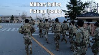 Day In The Life Of A Military Police Platoon Leader
