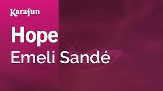 Karaoke Hope - Emeli Sandé *