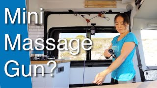 Mini Massage Gun Review - Useful for Climbers? by The Climbing Nomads