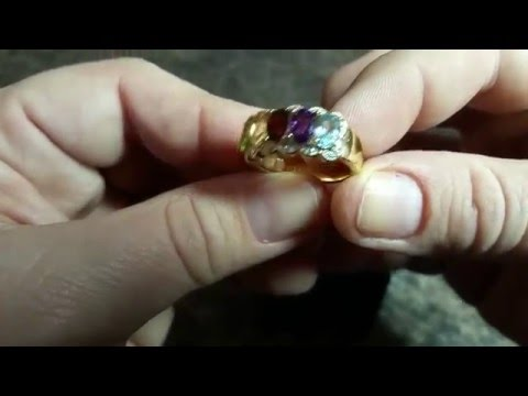 Multi Gemstone ring from Amazon Collection