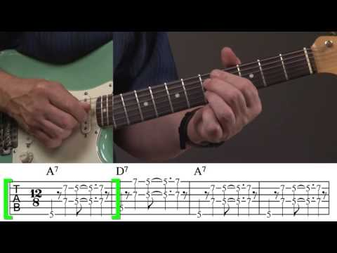 Rhythm Guitar Lesson for Blues