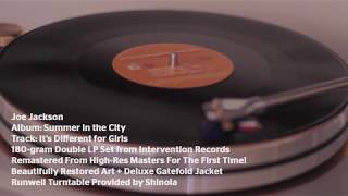 "Joe Jackson ""It's Different for Girls"" - Summer in the City from Intervention Records"