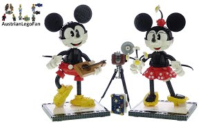 LEGO Disney 43179 Mickey Mouse and Minnie Mouse Buildable Characters - Lego Speed Build Review