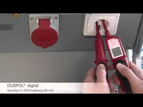 BENNING DUSPOL digital - Spannungsprüfer (de)