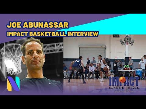 Joe Abunassar Impact Basketball Interview   Next Ones - YouTube