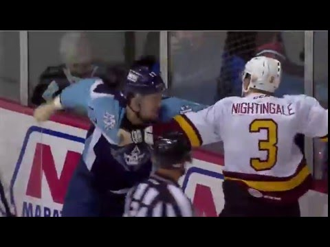 Jamie Devane vs Jared Nightingale