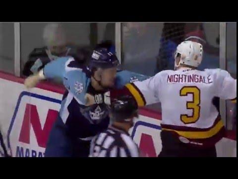 Jared Nightingale vs. Jamie Devane
