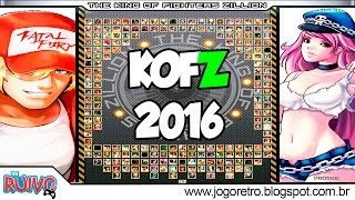 The King of Fighters Zillion 2016 (KOFZ FULL GAME 2016) - MUGEN 2016