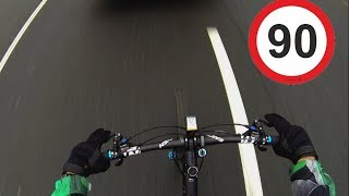 93 км/ч на велосипеде