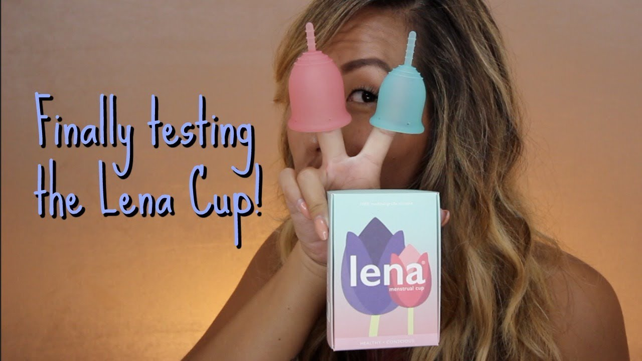 I TRIED THE LENA CUP *WARNING REAL BLOOD*| ITSJUSTKELLI