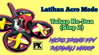 Belajar Acro Mode Micro Drone FPV 65mm - Step 2