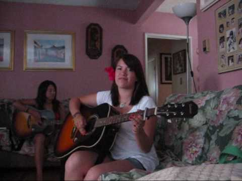 Kali and Christina Acoustic guitar cover of I Gotta Feeling. we tried. be nice.  Chords are G C Em C  Intro tab is  G: e  B 3 3 3 3 1 1 0 0 G 0 0 0 0 0 0 0 0  D A E  C: e  B 1 1 1 1 1 1 1 1 G 0 0 0 0 0 0 0 0  D A E  Em: e  B 0 0 0 0 0 0 0 0 G 0 0 0 0 0 0 0 0  D A E  and then repeat c  and then just play chords for the rest of the song. hopefully that helps! :]