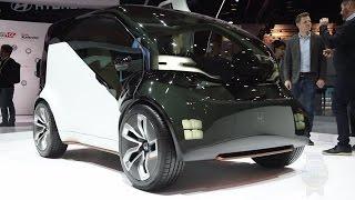 Honda NeuV Concept - CES 2017