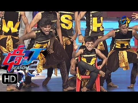 Dhee-Juniors2--Sivamani-Performance-2--30th-March-2016--ఢీ-జూనియర్స్2