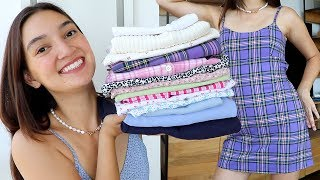 I Spent $500 At BRANDY MELVILLE! (and Time Travelled Back To The 90s)