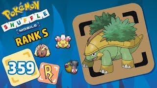 Grotle  - (Pokémon) - Pokémon Shuffle Rank S | GROTLE MALDITO T_T y más (616-619)