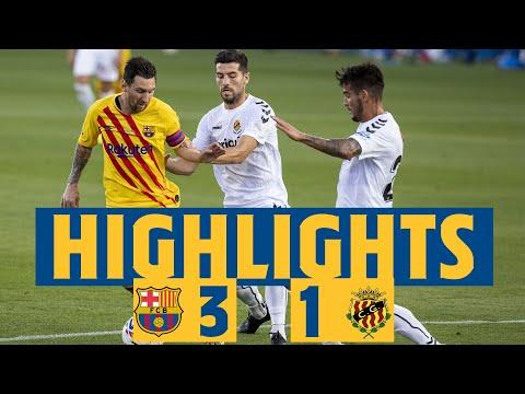 HIGHLIGHTS & REACTION | Barça 3-1 Nàstic HD Mp4 3GP Video and MP3