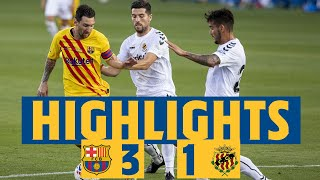 HIGHLIGHTS & REACTION | Barça 3-1 Nàstic