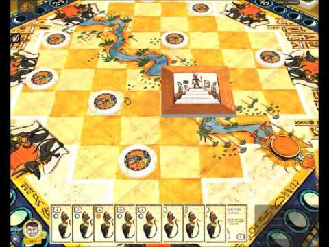 How to Play Heir to the Pharaoh -- demonstrated by designer Alf Seegert