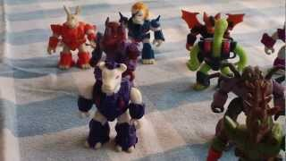 Battle Beasts vs. Army Ants toy line overview review