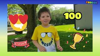 #learnmath #math #learning #kid #numbers LEARN MATH WITH TEO - 4 years old boy count to 100