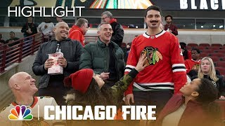 Otis Opens For The Chicago Blackhawks   Chicago Fire (Episode Highlight)