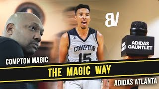 THE MAGIC WAY - ATL - Compton Magic Visit Inside The NBA Studio! Adidas Atlanta Gauntlet Experience