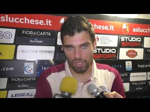 Lucchese-Arezzo 0-1, intervista ad Alberto Pelagotti