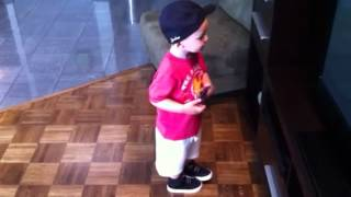 22 Month Old Rockin' out to Take Me Away by Danny Fernandes
