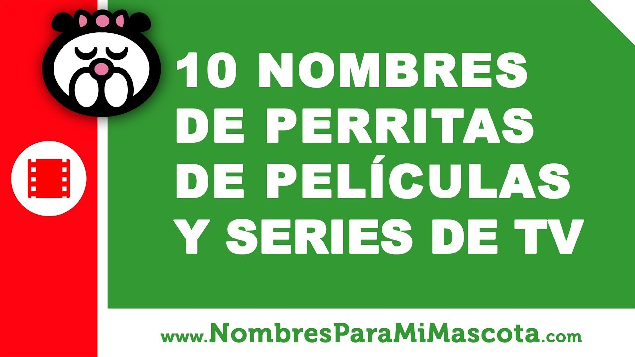 10 nombres de perritas de películas y series TV - nombres de mascota - www.nombresparamimascota.com