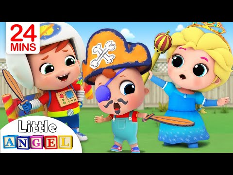 This is the Way We Get Ready for Playtime |Little Angel Nursery Rhymes
