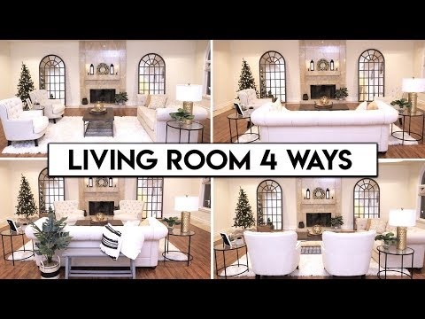 4 LIVING ROOM LAYOUT IDEAS   Easy Transformation