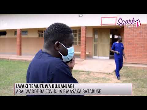 Abasawo e Masaka boogedde ku mbeera y'abalwadde ba COVID-19