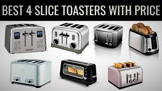 10 Best 4 Slice Toasters 2020 With Price | Top 10 Products - Unbiased Review