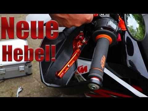 Neue Brems- und Kupplungshebel | Motea | Blackouts Bastelstube
