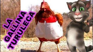 la gallina turuleca - canción infantiles / gato tom