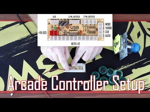 USB Arcade Controller Setup Guide