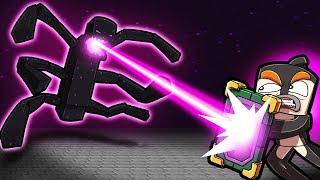 Fight to Survive...ENDER TITAN Boss Battle! (Scramble Craft)