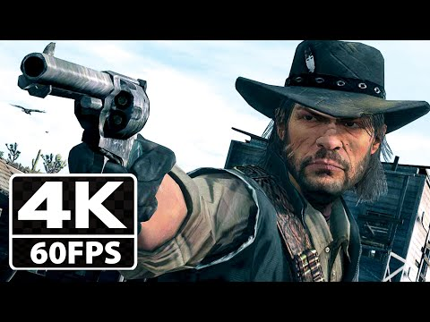 Red Dead Redemption 1 All Cutscenes Movie [4K-60FPS] Enhanced Edition